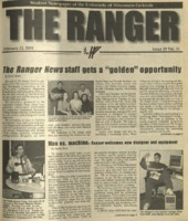 The Ranger , Volume 31, issue 19, February 22, 2001