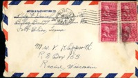 Letter from Daniel Klapproth to his mother while stationed in Fort Bliss, Texas, May 1, 1944