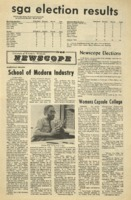 Parkside's Newscope, Volume 6, issue 10, March 13, 1972