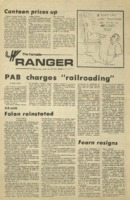 The Parkside Ranger, Volume 3, issue 6, September 11, 1974
