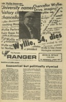 The Parkside Ranger, Volume 3, issue 13, October 30, 1974