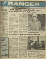 The Parkside Ranger, Volume 16, issue 18, February 11, 1988