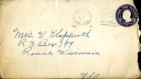 Letter from Daniel Klapproth to his mother while stationed in Fort Amador, Canal Zone, September 4, 1940
