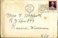 Letter from Daniel Klapproth to his mother while stationed in Fort Amador, Canal Zone, February 23, 1941