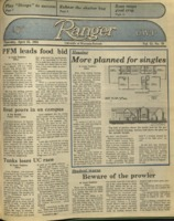 The Parkside Ranger, Volume 13, issue 28, April 25, 1985