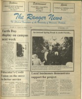 The Ranger News, Volume 25, issue 26, April 17, 1997