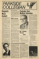 Parkside Collegian, Volume 1, issue 7, February 9, 1970