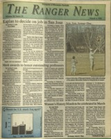 The Ranger News, Volume 20, issue 22, March 5, 1992