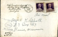 Letter from Daniel Klapproth to his mother while stationed in Fort Clayton, Canal Zone, June 1, 1942