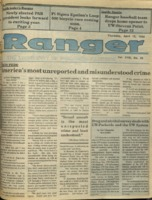 The Parkside Ranger, Volume 18, issue 26, April 12, 1990
