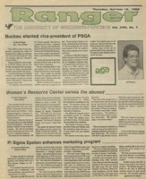 The Parkside Ranger, Volume 18, issue 7, October 19, 1989