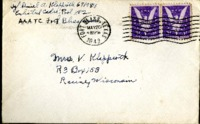 Letter from Daniel Klapproth to his mother while stationed in Fort Bliss, Texas, May 19, 1943