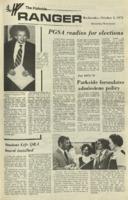 The Parkside Ranger, Volume 1, issue 2, October 4, 1972