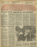 The Parkside Ranger, Volume 13, issue 10, November 11, 1984