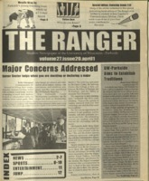 The Ranger , Volume 27, issue 20, April 1, 1999