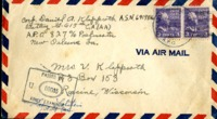Letter from Daniel Klapproth to his mother while stationed in Canal Zone, July 12, 1942