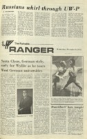 The Parkside Ranger, Volume 1, issue 11, December 6, 1972