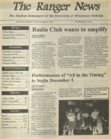 The Ranger News, Volume 26, issue 11, December 4, 1997