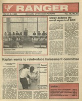 The Parkside Ranger, Volume 15, issue 21, March 5, 1987
