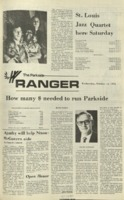 The Parkside Ranger, Volume 1, issue 3, October 11, 1972