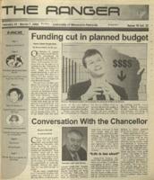 The Ranger , Volume 32, issue 15, February 21, 2002