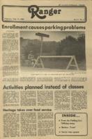 The Parkside Ranger, Volume 9, issue 2, September 11, 1980