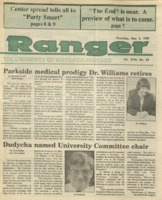 The Parkside Ranger, Volume 18, issue 29, May 3, 1990