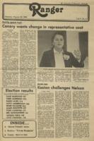 The Parkside Ranger, Volume 9, issue 8, October 23, 1980